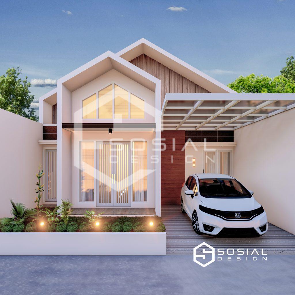 desain rumah 1 lantai
